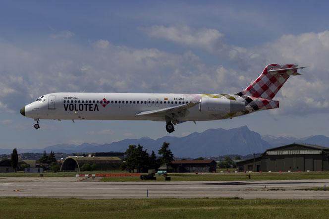 EC-MGS B717-2CM 55061/5029 Volotea Air @ Aeroporto di Verona - 2016 © Piti Spotter Club Verona (25.04.2016)