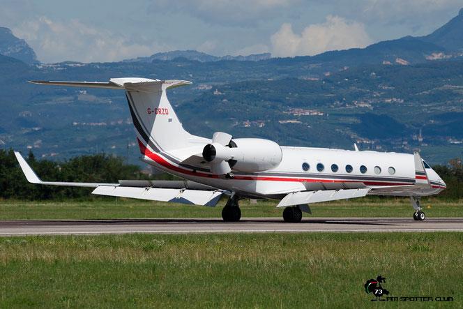 G-GRZD G550 5315 TAG Aviation (UK) Ltd. @ Aeroporto di Verona - 11/08/2016 © Piti Spotter Club Verona