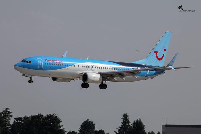 G-FDZA B737-8K5 35134/2152 Thomson Airways @ Aeroporto di Verona - 23/07/2016 © Piti Spotter Club Verona