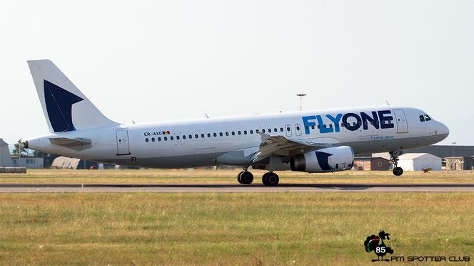 ER-AXO A320-231 357 FlyOne @ Aeroporto di Verona - 22/07/2016 © Piti Spotter Club Verona