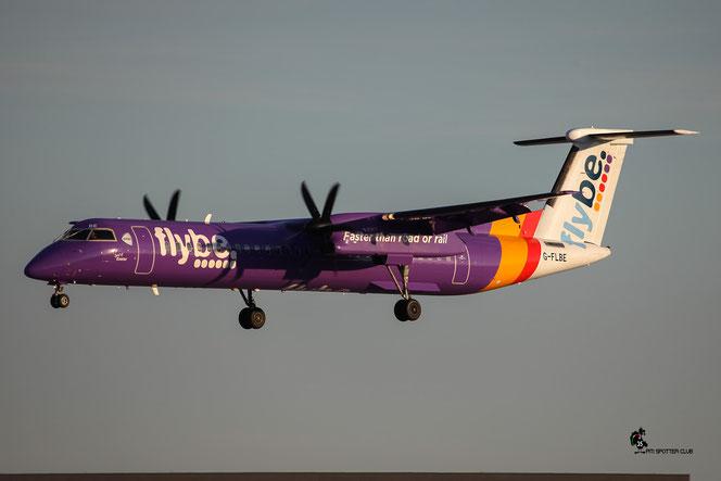 G-FLBE DHC-8-402 4261 Flybe - British European @ Aeroporto di Verona - 06/08/2016 © Piti Spotter Club Verona