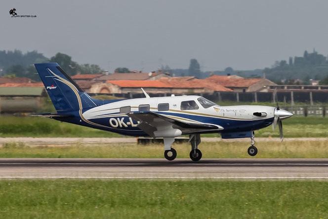 OK-LLL - Private - Piper PA-46-500TP Malibu Meridian @ Aeroporto di Verona - 17/07/2016 © Piti Spotter Club Verona