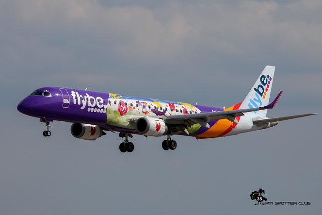 G-FBEM ERJ195LR 19000204 Flybe - British European @ Aeroporto di Verona - 18/06/2016 © Piti Spotter Club Verona