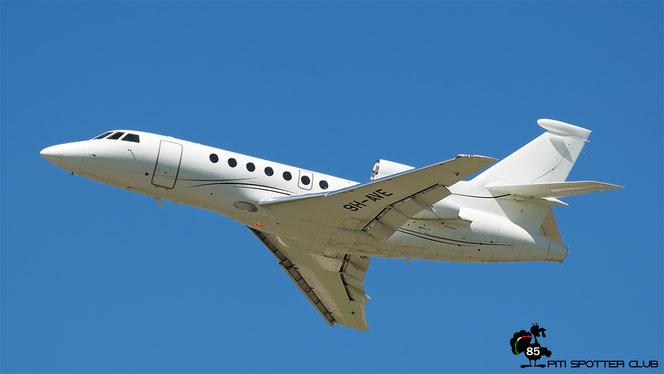 9H-AVE Falcon 50EX 295 Leader Srl @ Aeroporto di Verona - 10/08/2016 © Piti Spotter Club Verona