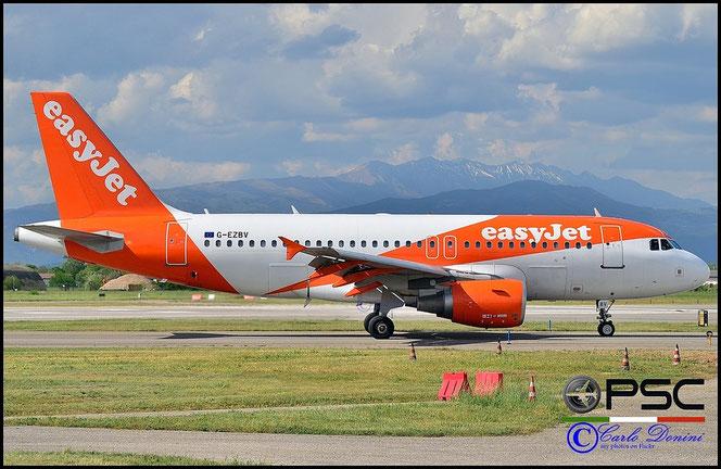 G-EZBV A319-111 3122 EasyJet Airline @ Aeroporto di Verona - 2016 © Piti Spotter Club Verona