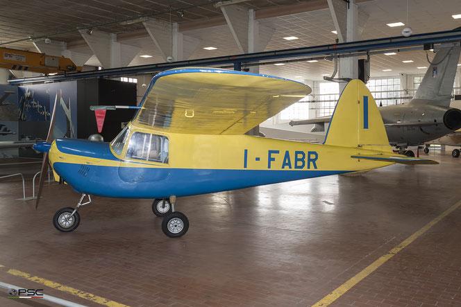 MB-308 I-FABR esposto al museo di Volandia. (Archivio PSC)