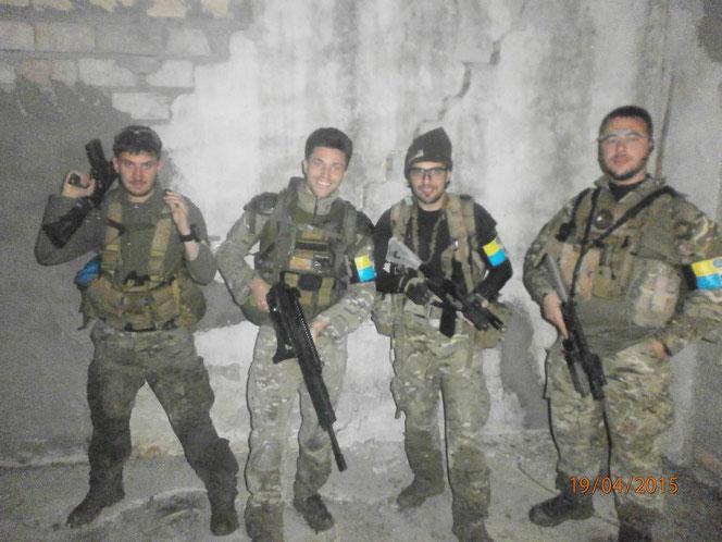 Foto scattata nel rifugio notturno scoperto dai Night Hawks dove hanno recuperato le forze evitando la pioggia