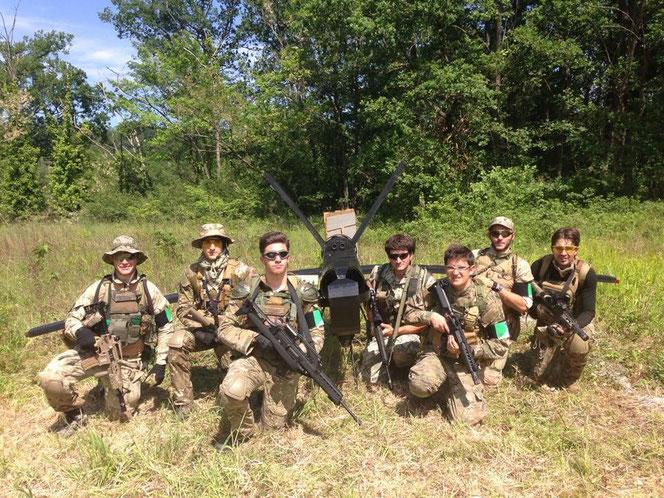 Squadra convocata: Gecko (caposquadra), Etere (cartografo), Gibbo, OldFox, Forste, Cervone, Cicci
