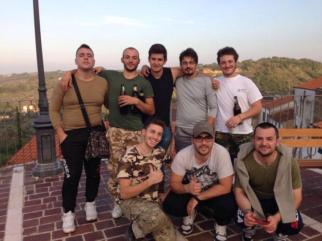 Squadra in attesa della premiazione. Convocati: Gecko (CS), Etere (Cartografo), Cicci, Diddo, Gibbo, Oldfox, Dna, Mirko