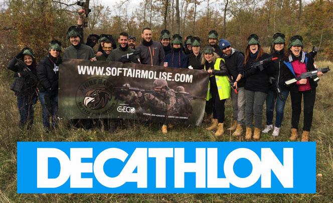 Team Building con Decathlon Campobasso 8 novembre 2016 - Clicca sulla foto