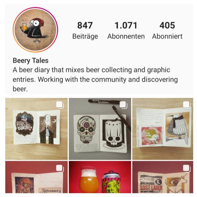 Berry Tales auf Instagram