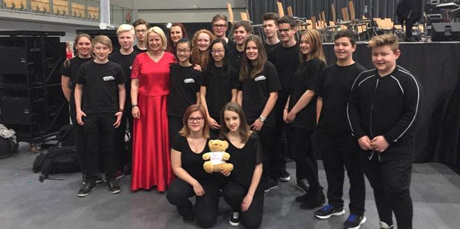 Jugendorchester beim Word Music Festival 2016 in Innsbruck/Österreich