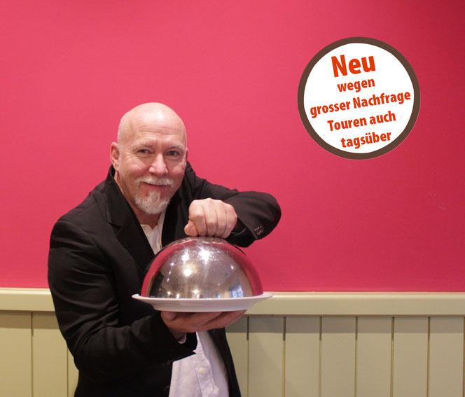 Walter Hartmann führt Interessierte auf kulinarischen Spuren durch Winterthur