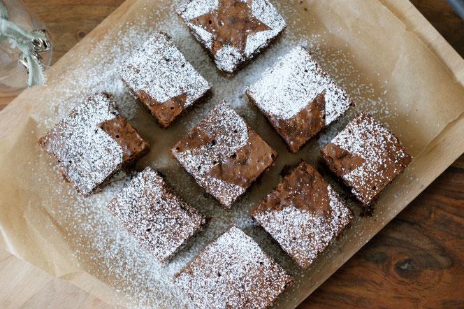 Lebkuchen-Brownies