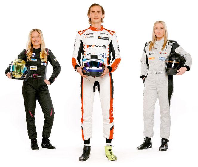 v.l.: Corinna Kamper, Ferdinand Habsburg und Bianca Steiner (Foto: ORF/Roman Zach-Kiesling)