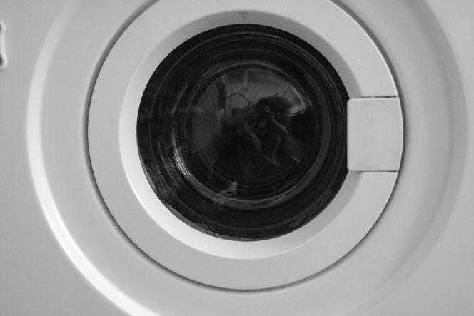 Selfie Waschmaschine nervenkeks