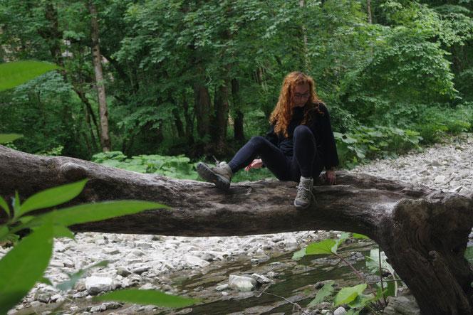 Als Frau allein Reisen im Schwarzwald? Selbstverständlich und ohne Frage. Nur das mit dem Pause machen, muss ich nochmal üben.