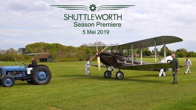 Shuttleworth Season Premiere DH51 Tiger Moth Miss Kenya