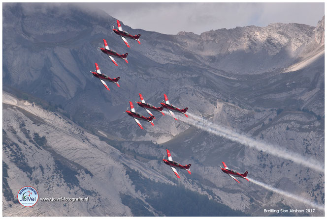 PC-7 Team, Breitling Sion Airshow