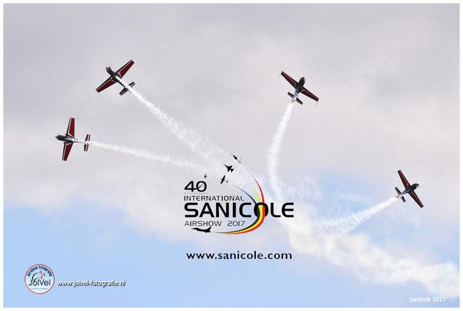 The Royal Jordanian Falcons Sanicole Airshow