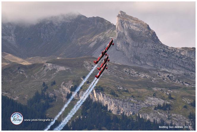 Jordanian Falcons, Breitling Sion Airshow