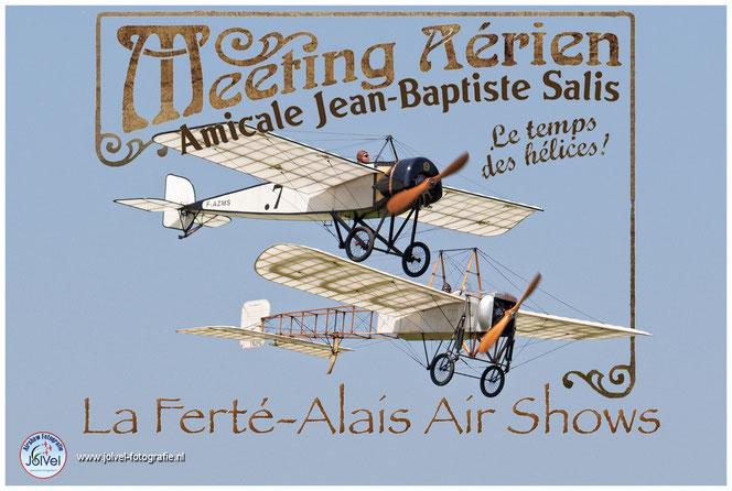 F-AZMS Morane Saulnier F-AZPG Bleriot