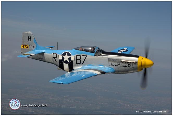 P51D, Mustang, Louisiana Kid, Air to Air photography