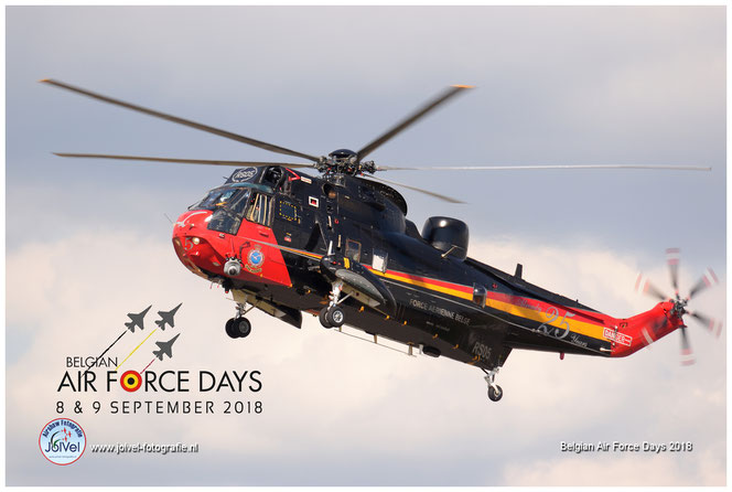Sea King Belgian Air Force