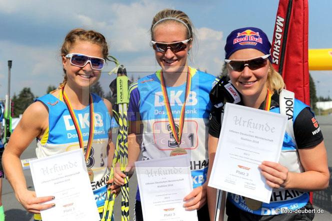 Marion Deigentesch, Anna Weidel, Miriam Gössner