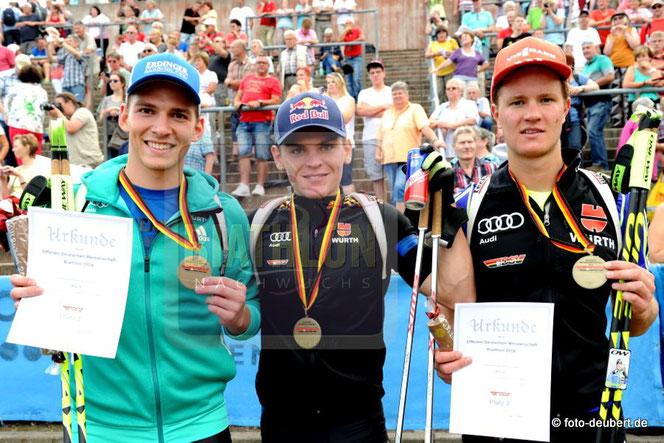 Dominic Reiter, Niklas Homberg, Dominic Schmuck
