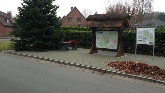 Rastplatz am Dorfanger Stade - Haddorf