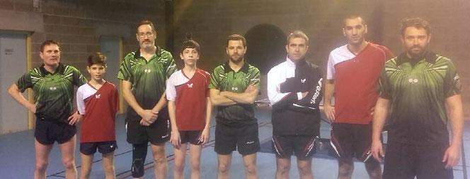 Sylvain, Noa, Jean Christophe, Benjamin, Emmanuel, Laurent, Anthony et Yannick
