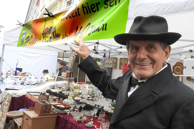 Wahn-Sinn Zöppkesmarkt: seit 40 Jahren ist Familie Wahn dabei.