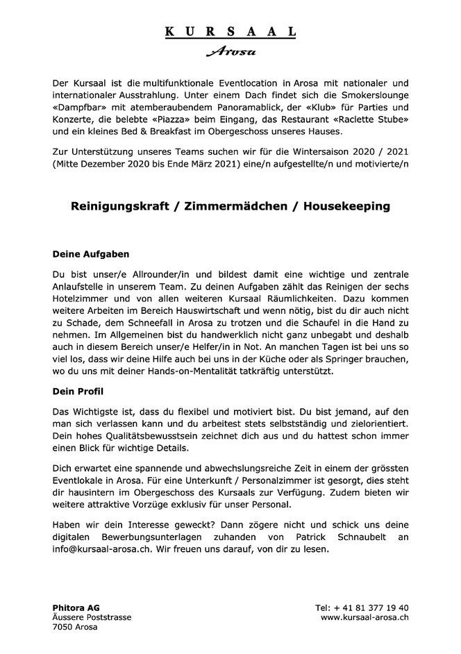 Tolle Housekeeping Aufgaben Werden Fortgesetzt Galerie - Beispiel ...