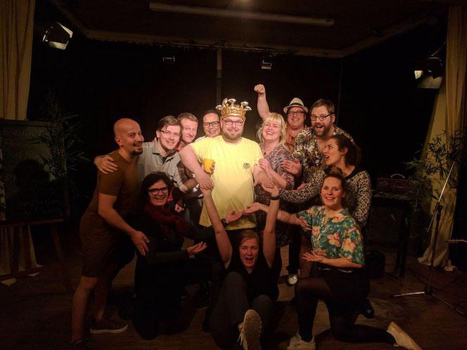 Dschungelcamp improvisiert Impro theater sie-und-sie
