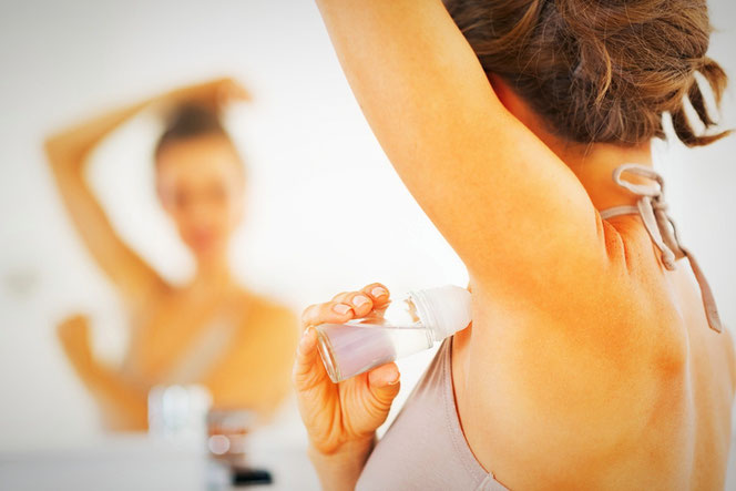 Дезодоранты  и антиперспиранты вредны