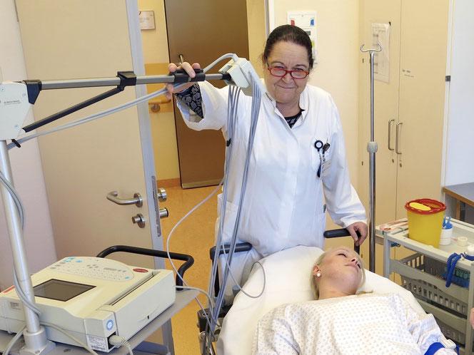 Ohne das Engagement von Maria-Barbara Naumann wäre das Klinikum Kaulsdorf nicht das, was es heute ist.
