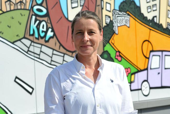 Yvonne Rosendahl macht sich für Inklusion stark. © pressefoto-uhlemann.de