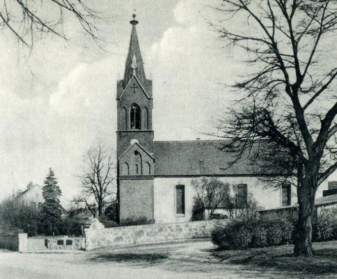 Die Kaulsdorfer Jesuskirche wurde im 13. Jahrhundert errichtet. Sie ist das älteste Gebäude im Ort. © Archiv Bezirksmuseum