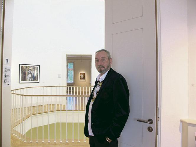 Heute arbeitet der 60-Jährige als Aufsichtsperson im Schloss Biesdorf