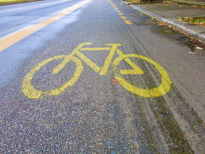 In Marzahn-Hellersdorf gibt es noch keinen einzigen Pop-up-Radweg.