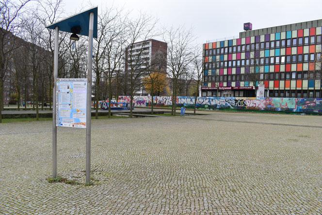 Die Belebung des neu gestalteten Barnimplatzes durch Veranstaltungen bleibt für Akteure im Marzahn-NordWest auch nach dem QM-Ende eine Aufgabe. © Harald Ritter