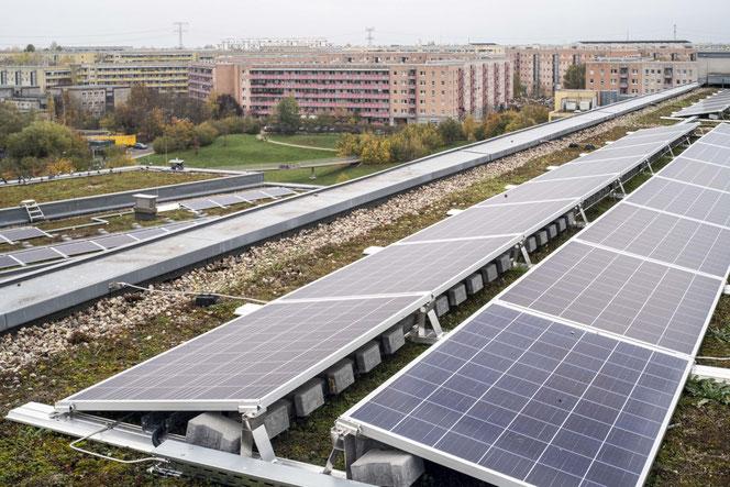 Auch die Alice-Salomon-Hochschule setzt nun auf Photovoltaik. © Mathias Voelzke