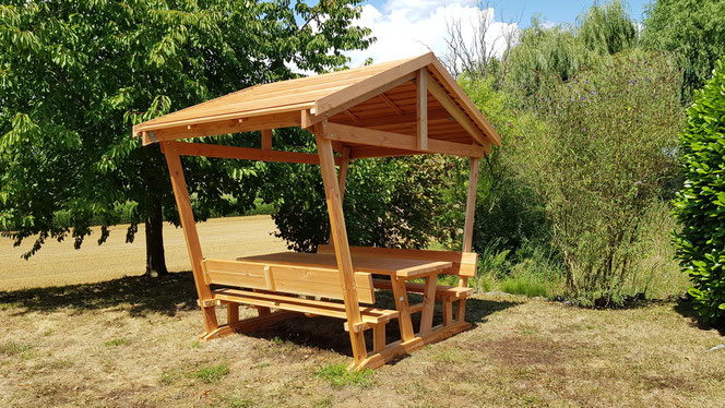 Table detente avec tonnelle table de jardin pas cher - Tonnelle de jardin pliante pas cher ...