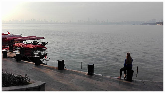 Wuhan Sehenswürdigkeiten East Lake China