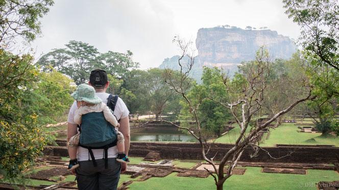 visite en famille au Sri Lanka