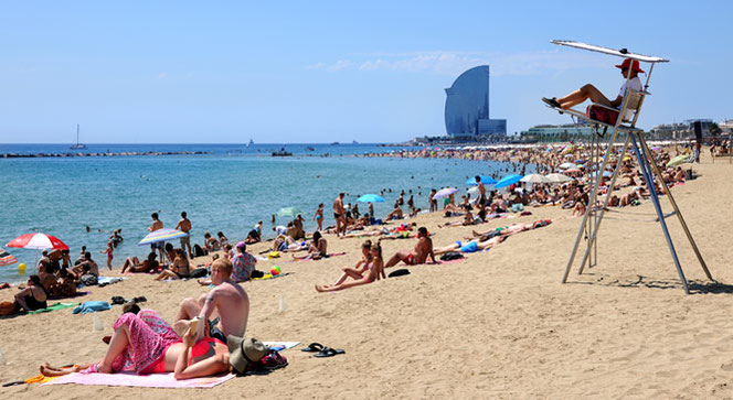 plage Barceloneta - crédit photo Visit Barcelona