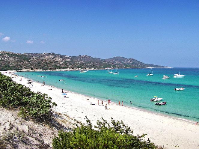 plage de la Saleccia