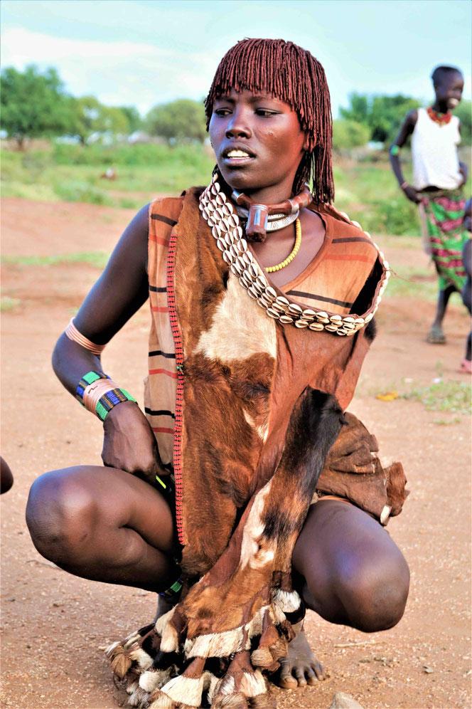 Женщина племени Хамер