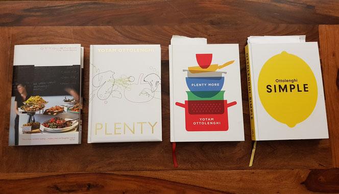 In diesem Jahr habe ich viel aus den Büchern von Yotam Ottolenghi gekocht, der in London lebt & wirkt.